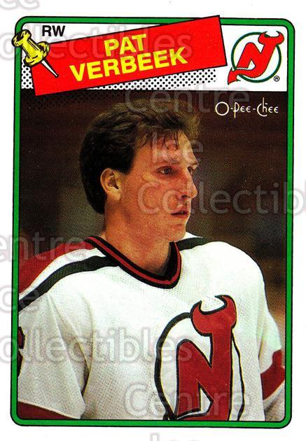 1988-89 O-Pee-Chee #29 Pat Verbeek<br/>11 In Stock - $1.00 each - <a href=https://centericecollectibles.foxycart.com/cart?name=1988-89%20O-Pee-Chee%20%2329%20Pat%20Verbeek...&quantity_max=11&price=$1.00&code=169316 class=foxycart> Buy it now! </a>