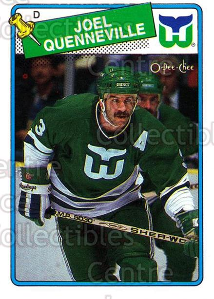 1988-89 O-Pee-Chee #3 Joel Quenneville<br/>4 In Stock - $1.00 each - <a href=https://centericecollectibles.foxycart.com/cart?name=1988-89%20O-Pee-Chee%20%233%20Joel%20Quennevill...&quantity_max=4&price=$1.00&code=169317 class=foxycart> Buy it now! </a>