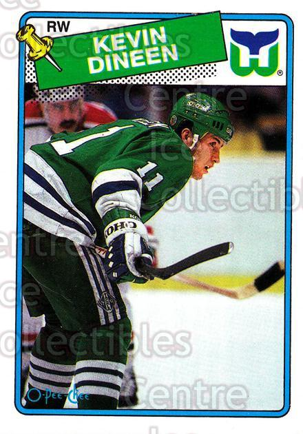 1988-89 O-Pee-Chee #36 Kevin Dineen<br/>12 In Stock - $1.00 each - <a href=https://centericecollectibles.foxycart.com/cart?name=1988-89%20O-Pee-Chee%20%2336%20Kevin%20Dineen...&quantity_max=12&price=$1.00&code=169324 class=foxycart> Buy it now! </a>