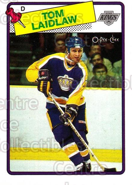 1988-89 O-Pee-Chee #37 Tom Laidlaw<br/>11 In Stock - $1.00 each - <a href=https://centericecollectibles.foxycart.com/cart?name=1988-89%20O-Pee-Chee%20%2337%20Tom%20Laidlaw...&quantity_max=11&price=$1.00&code=169325 class=foxycart> Buy it now! </a>