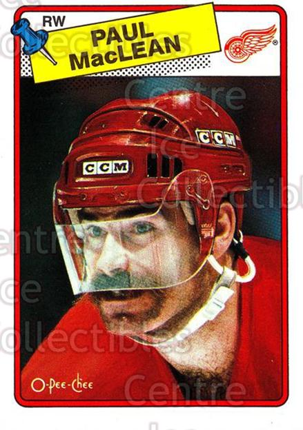 1988-89 O-Pee-Chee #38 Paul MacLean<br/>8 In Stock - $1.00 each - <a href=https://centericecollectibles.foxycart.com/cart?name=1988-89%20O-Pee-Chee%20%2338%20Paul%20MacLean...&quantity_max=8&price=$1.00&code=169326 class=foxycart> Buy it now! </a>