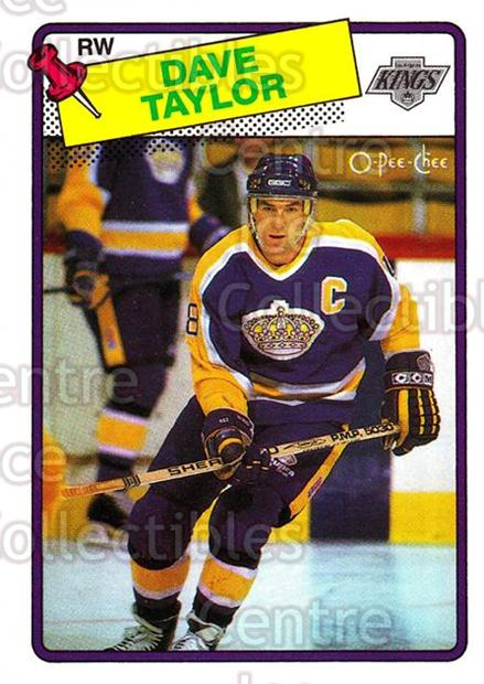 1988-89 O-Pee-Chee #46 Dave Taylor<br/>10 In Stock - $1.00 each - <a href=https://centericecollectibles.foxycart.com/cart?name=1988-89%20O-Pee-Chee%20%2346%20Dave%20Taylor...&quantity_max=10&price=$1.00&code=169335 class=foxycart> Buy it now! </a>