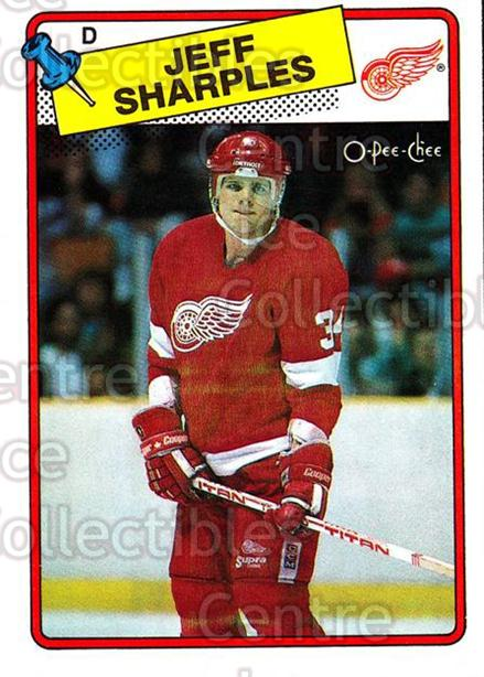 1988-89 O-Pee-Chee #48 Jeff Sharples<br/>7 In Stock - $1.00 each - <a href=https://centericecollectibles.foxycart.com/cart?name=1988-89%20O-Pee-Chee%20%2348%20Jeff%20Sharples...&quantity_max=7&price=$1.00&code=169336 class=foxycart> Buy it now! </a>