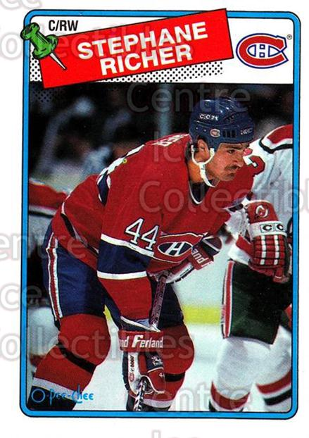 1988-89 O-Pee-Chee #5 Stephane Richer<br/>7 In Stock - $1.00 each - <a href=https://centericecollectibles.foxycart.com/cart?name=1988-89%20O-Pee-Chee%20%235%20Stephane%20Richer...&quantity_max=7&price=$1.00&code=169338 class=foxycart> Buy it now! </a>