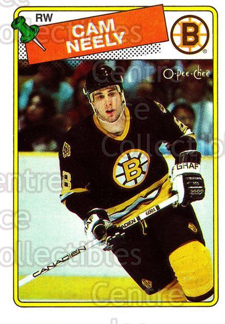 1988-89 O-Pee-Chee #58 Cam Neely<br/>3 In Stock - $1.00 each - <a href=https://centericecollectibles.foxycart.com/cart?name=1988-89%20O-Pee-Chee%20%2358%20Cam%20Neely...&quantity_max=3&price=$1.00&code=169345 class=foxycart> Buy it now! </a>