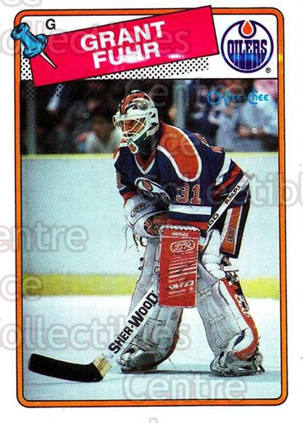 1988-89 O-Pee-Chee #59 Grant Fuhr<br/>1 In Stock - $2.00 each - <a href=https://centericecollectibles.foxycart.com/cart?name=1988-89%20O-Pee-Chee%20%2359%20Grant%20Fuhr...&quantity_max=1&price=$2.00&code=169346 class=foxycart> Buy it now! </a>