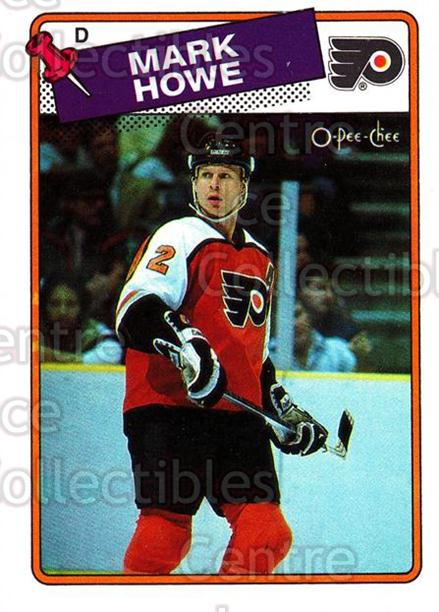 1988-89 O-Pee-Chee #6 Mark Howe<br/>8 In Stock - $1.00 each - <a href=https://centericecollectibles.foxycart.com/cart?name=1988-89%20O-Pee-Chee%20%236%20Mark%20Howe...&quantity_max=8&price=$1.00&code=169347 class=foxycart> Buy it now! </a>