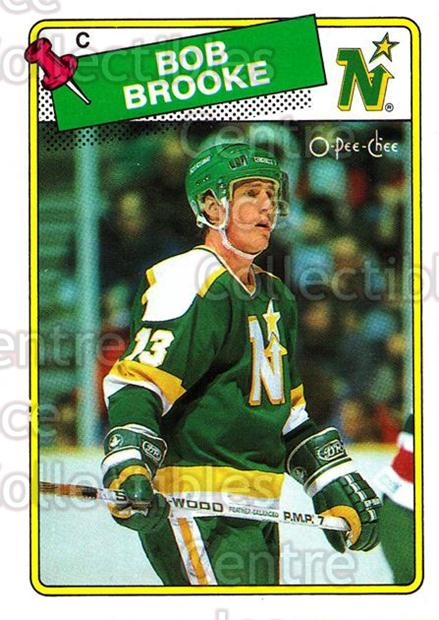 1988-89 O-Pee-Chee #61 Bob Brooke<br/>10 In Stock - $1.00 each - <a href=https://centericecollectibles.foxycart.com/cart?name=1988-89%20O-Pee-Chee%20%2361%20Bob%20Brooke...&quantity_max=10&price=$1.00&code=169349 class=foxycart> Buy it now! </a>