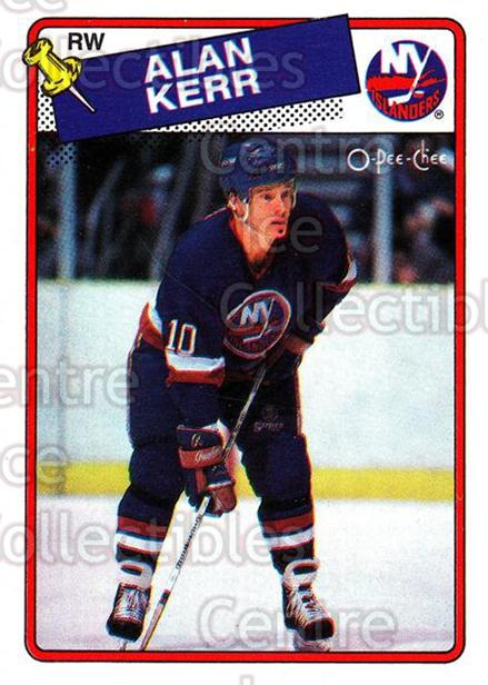 1988-89 O-Pee-Chee #63 Alan Kerr<br/>11 In Stock - $1.00 each - <a href=https://centericecollectibles.foxycart.com/cart?name=1988-89%20O-Pee-Chee%20%2363%20Alan%20Kerr...&quantity_max=11&price=$1.00&code=169351 class=foxycart> Buy it now! </a>