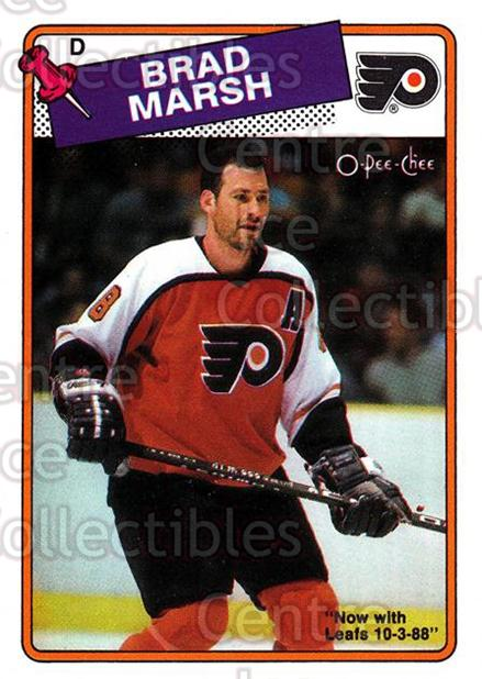 1988-89 O-Pee-Chee #64 Brad Marsh<br/>9 In Stock - $1.00 each - <a href=https://centericecollectibles.foxycart.com/cart?name=1988-89%20O-Pee-Chee%20%2364%20Brad%20Marsh...&quantity_max=9&price=$1.00&code=169352 class=foxycart> Buy it now! </a>