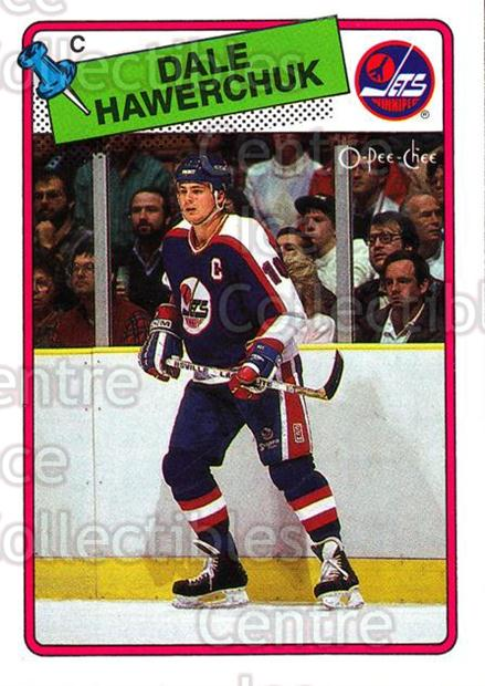 1988-89 O-Pee-Chee #65 Dale Hawerchuk<br/>5 In Stock - $1.00 each - <a href=https://centericecollectibles.foxycart.com/cart?name=1988-89%20O-Pee-Chee%20%2365%20Dale%20Hawerchuk...&quantity_max=5&price=$1.00&code=169353 class=foxycart> Buy it now! </a>