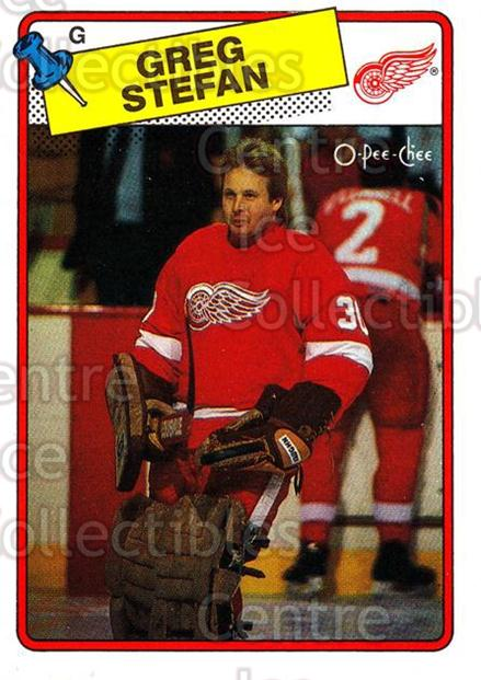 1988-89 O-Pee-Chee #68 Greg Stefan<br/>11 In Stock - $1.00 each - <a href=https://centericecollectibles.foxycart.com/cart?name=1988-89%20O-Pee-Chee%20%2368%20Greg%20Stefan...&quantity_max=11&price=$1.00&code=169355 class=foxycart> Buy it now! </a>