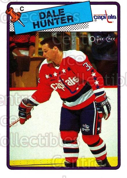 1988-89 O-Pee-Chee #70 Dale Hunter<br/>10 In Stock - $1.00 each - <a href=https://centericecollectibles.foxycart.com/cart?name=1988-89%20O-Pee-Chee%20%2370%20Dale%20Hunter...&quantity_max=10&price=$1.00&code=169358 class=foxycart> Buy it now! </a>