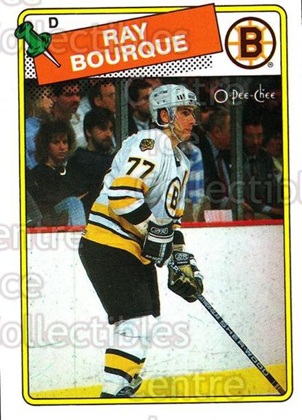 1988-89 O-Pee-Chee #73 Ray Bourque<br/>5 In Stock - $2.00 each - <a href=https://centericecollectibles.foxycart.com/cart?name=1988-89%20O-Pee-Chee%20%2373%20Ray%20Bourque...&quantity_max=5&price=$2.00&code=169361 class=foxycart> Buy it now! </a>