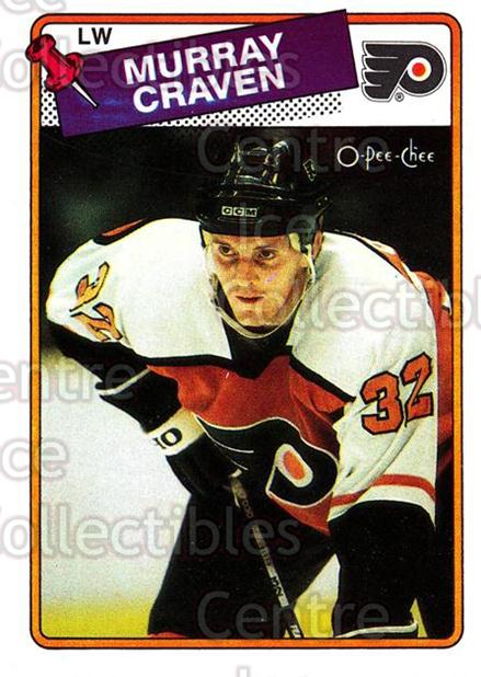 1988-89 O-Pee-Chee #79 Murray Craven<br/>11 In Stock - $1.00 each - <a href=https://centericecollectibles.foxycart.com/cart?name=1988-89%20O-Pee-Chee%20%2379%20Murray%20Craven...&quantity_max=11&price=$1.00&code=169367 class=foxycart> Buy it now! </a>