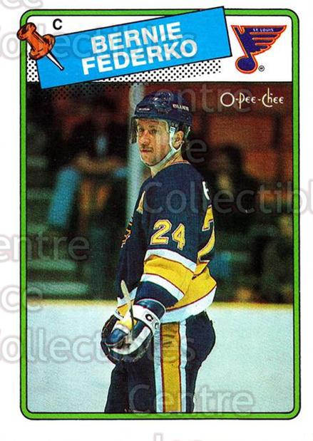 1988-89 O-Pee-Chee #81 Bernie Federko<br/>11 In Stock - $1.00 each - <a href=https://centericecollectibles.foxycart.com/cart?name=1988-89%20O-Pee-Chee%20%2381%20Bernie%20Federko...&quantity_max=11&price=$1.00&code=169370 class=foxycart> Buy it now! </a>