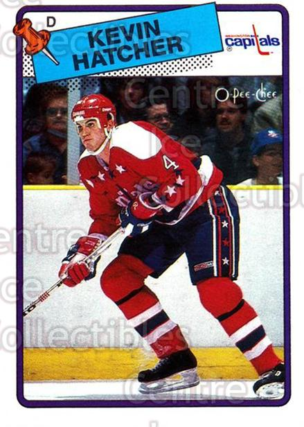 1988-89 O-Pee-Chee #86 Kevin Hatcher<br/>10 In Stock - $1.00 each - <a href=https://centericecollectibles.foxycart.com/cart?name=1988-89%20O-Pee-Chee%20%2386%20Kevin%20Hatcher...&quantity_max=10&price=$1.00&code=169375 class=foxycart> Buy it now! </a>