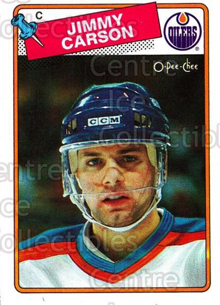 1988-89 O-Pee-Chee #9 Jimmy Carson<br/>6 In Stock - $1.00 each - <a href=https://centericecollectibles.foxycart.com/cart?name=1988-89%20O-Pee-Chee%20%239%20Jimmy%20Carson...&quantity_max=6&price=$1.00&code=169379 class=foxycart> Buy it now! </a>