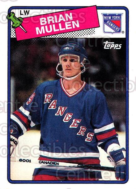 1988-89 Topps #91 Brian Mullen<br/>7 In Stock - $1.00 each - <a href=https://centericecollectibles.foxycart.com/cart?name=1988-89%20Topps%20%2391%20Brian%20Mullen...&quantity_max=7&price=$1.00&code=169445 class=foxycart> Buy it now! </a>