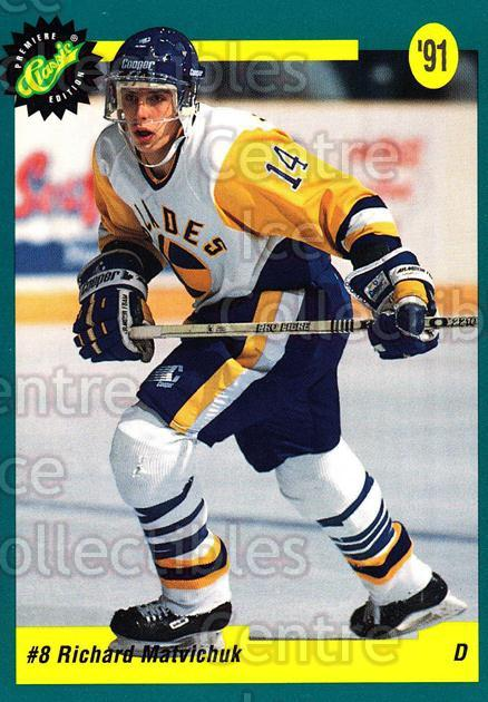 1991 Classic Hockey Draft #7 Richard Matvichuk<br/>11 In Stock - $1.00 each - <a href=https://centericecollectibles.foxycart.com/cart?name=1991%20Classic%20Hockey%20Draft%20%237%20Richard%20Matvich...&quantity_max=11&price=$1.00&code=16945 class=foxycart> Buy it now! </a>