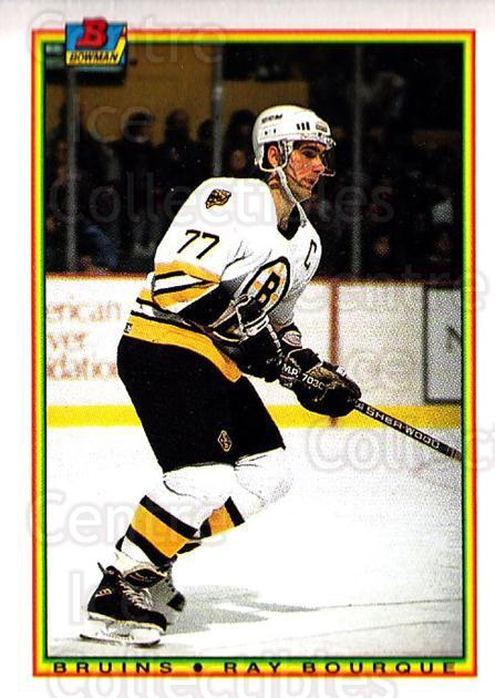 1990-91 Bowman #31 Ray Bourque<br/>4 In Stock - $1.00 each - <a href=https://centericecollectibles.foxycart.com/cart?name=1990-91%20Bowman%20%2331%20Ray%20Bourque...&quantity_max=4&price=$1.00&code=169686 class=foxycart> Buy it now! </a>