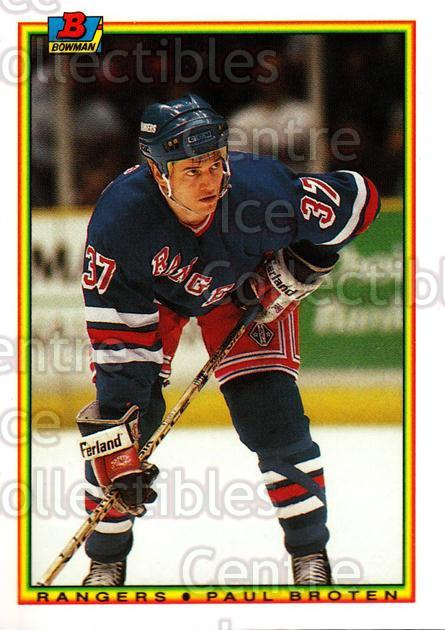 1990-91 Bowman Tiffany #224 Paul Broten<br/>12 In Stock - $2.00 each - <a href=https://centericecollectibles.foxycart.com/cart?name=1990-91%20Bowman%20Tiffany%20%23224%20Paul%20Broten...&quantity_max=12&price=$2.00&code=169761 class=foxycart> Buy it now! </a>