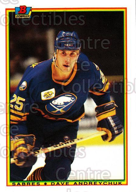 1990-91 Bowman Tiffany #246 Dave Andreychuk<br/>12 In Stock - $2.00 each - <a href=https://centericecollectibles.foxycart.com/cart?name=1990-91%20Bowman%20Tiffany%20%23246%20Dave%20Andreychuk...&quantity_max=12&price=$2.00&code=169781 class=foxycart> Buy it now! </a>