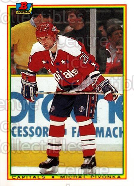 1990-91 Bowman Tiffany #68 Michal Pivonka<br/>12 In Stock - $2.00 each - <a href=https://centericecollectibles.foxycart.com/cart?name=1990-91%20Bowman%20Tiffany%20%2368%20Michal%20Pivonka...&quantity_max=12&price=$2.00&code=169845 class=foxycart> Buy it now! </a>