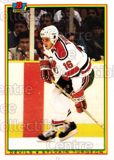 1990-91 Bowman Tiffany #81 Sylvain Turgeon<br/>10 In Stock - $2.00 each - <a href=https://centericecollectibles.foxycart.com/cart?name=1990-91%20Bowman%20Tiffany%20%2381%20Sylvain%20Turgeon...&quantity_max=10&price=$2.00&code=169859 class=foxycart> Buy it now! </a>