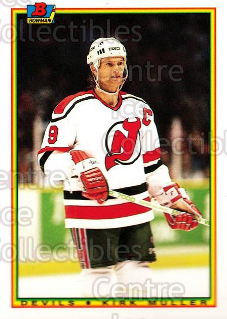 1990-91 Bowman Tiffany #82 Kirk Muller<br/>12 In Stock - $2.00 each - <a href=https://centericecollectibles.foxycart.com/cart?name=1990-91%20Bowman%20Tiffany%20%2382%20Kirk%20Muller...&quantity_max=12&price=$2.00&code=169860 class=foxycart> Buy it now! </a>