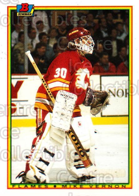 1990-91 Bowman Tiffany #94 Mike Vernon<br/>11 In Stock - $2.00 each - <a href=https://centericecollectibles.foxycart.com/cart?name=1990-91%20Bowman%20Tiffany%20%2394%20Mike%20Vernon...&quantity_max=11&price=$2.00&code=169873 class=foxycart> Buy it now! </a>