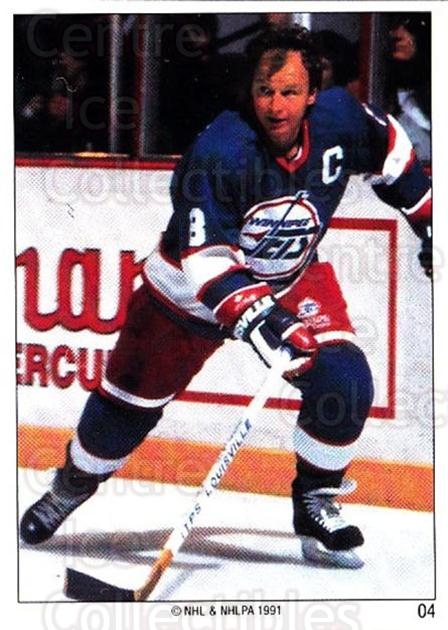 1991 Winnipeg Jets Panini Team Stickers #4 Randy Carlyle<br/>1 In Stock - $3.00 each - <a href=https://centericecollectibles.foxycart.com/cart?name=1991%20Winnipeg%20Jets%20Panini%20Team%20Stickers%20%234%20Randy%20Carlyle...&quantity_max=1&price=$3.00&code=17021 class=foxycart> Buy it now! </a>