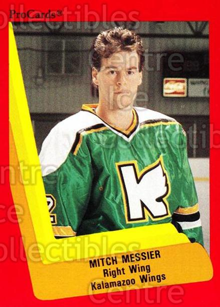 1990-91 ProCards AHL IHL #102 Mitch Messier<br/>12 In Stock - $2.00 each - <a href=https://centericecollectibles.foxycart.com/cart?name=1990-91%20ProCards%20AHL%20IHL%20%23102%20Mitch%20Messier...&quantity_max=12&price=$2.00&code=170376 class=foxycart> Buy it now! </a>