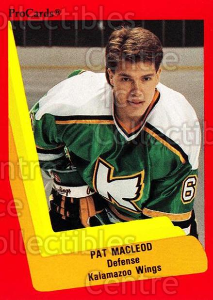 1990-91 ProCards AHL IHL #108 Pat MacLeod<br/>17 In Stock - $2.00 each - <a href=https://centericecollectibles.foxycart.com/cart?name=1990-91%20ProCards%20AHL%20IHL%20%23108%20Pat%20MacLeod...&quantity_max=17&price=$2.00&code=170381 class=foxycart> Buy it now! </a>