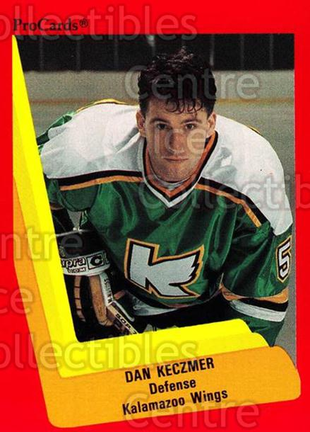 1990-91 ProCards AHL IHL #114 Dan Keczmer<br/>18 In Stock - $2.00 each - <a href=https://centericecollectibles.foxycart.com/cart?name=1990-91%20ProCards%20AHL%20IHL%20%23114%20Dan%20Keczmer...&quantity_max=18&price=$2.00&code=170388 class=foxycart> Buy it now! </a>