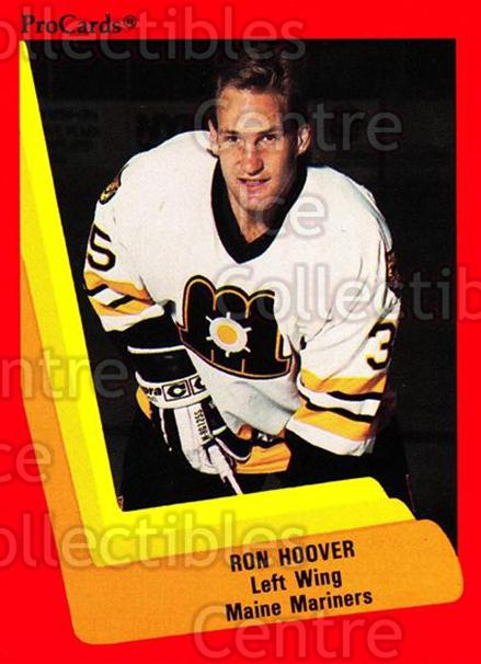 1990-91 ProCards AHL IHL #126 Ron Hoover<br/>23 In Stock - $2.00 each - <a href=https://centericecollectibles.foxycart.com/cart?name=1990-91%20ProCards%20AHL%20IHL%20%23126%20Ron%20Hoover...&quantity_max=23&price=$2.00&code=170401 class=foxycart> Buy it now! </a>