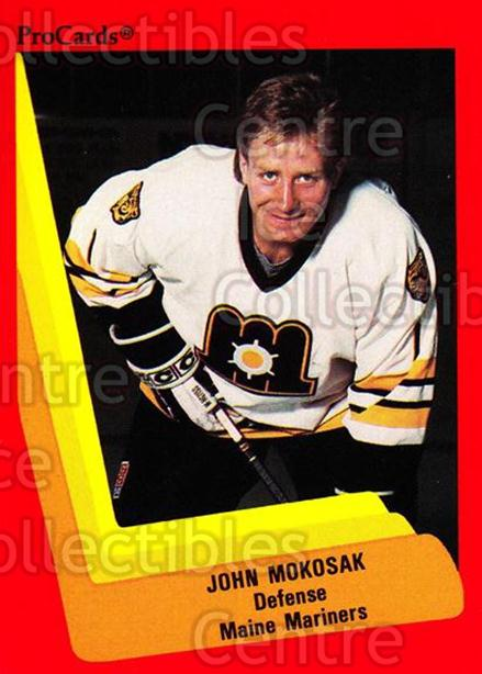 1990-91 ProCards AHL IHL #127 John Mokosak<br/>19 In Stock - $2.00 each - <a href=https://centericecollectibles.foxycart.com/cart?name=1990-91%20ProCards%20AHL%20IHL%20%23127%20John%20Mokosak...&quantity_max=19&price=$2.00&code=170402 class=foxycart> Buy it now! </a>