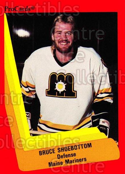 1990-91 ProCards AHL IHL #130 Bruce Shoebottom<br/>19 In Stock - $2.00 each - <a href=https://centericecollectibles.foxycart.com/cart?name=1990-91%20ProCards%20AHL%20IHL%20%23130%20Bruce%20Shoebotto...&quantity_max=19&price=$2.00&code=170406 class=foxycart> Buy it now! </a>