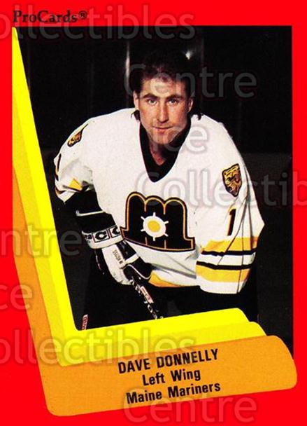 1990-91 ProCards AHL IHL #131 Dave Donnelly<br/>7 In Stock - $2.00 each - <a href=https://centericecollectibles.foxycart.com/cart?name=1990-91%20ProCards%20AHL%20IHL%20%23131%20Dave%20Donnelly...&price=$2.00&code=170407 class=foxycart> Buy it now! </a>