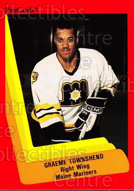 1990-91 ProCards AHL IHL #133 Graeme Townshend<br/>19 In Stock - $2.00 each - <a href=https://centericecollectibles.foxycart.com/cart?name=1990-91%20ProCards%20AHL%20IHL%20%23133%20Graeme%20Townshen...&price=$2.00&code=170409 class=foxycart> Buy it now! </a>