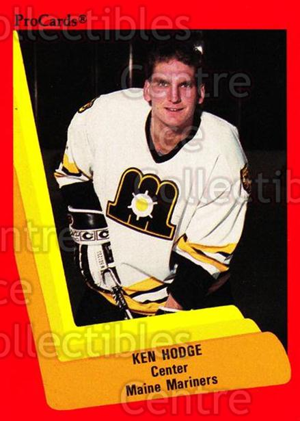1990-91 ProCards AHL IHL #134 Ken Hodge Jr.<br/>23 In Stock - $2.00 each - <a href=https://centericecollectibles.foxycart.com/cart?name=1990-91%20ProCards%20AHL%20IHL%20%23134%20Ken%20Hodge%20Jr....&price=$2.00&code=170410 class=foxycart> Buy it now! </a>