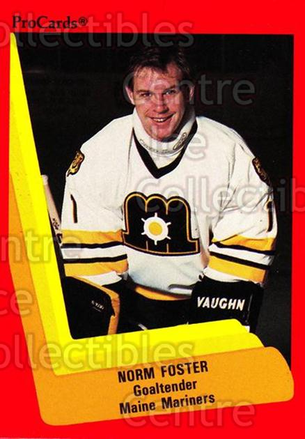 1990-91 ProCards AHL IHL #135 Norm Foster<br/>22 In Stock - $2.00 each - <a href=https://centericecollectibles.foxycart.com/cart?name=1990-91%20ProCards%20AHL%20IHL%20%23135%20Norm%20Foster...&price=$2.00&code=170411 class=foxycart> Buy it now! </a>