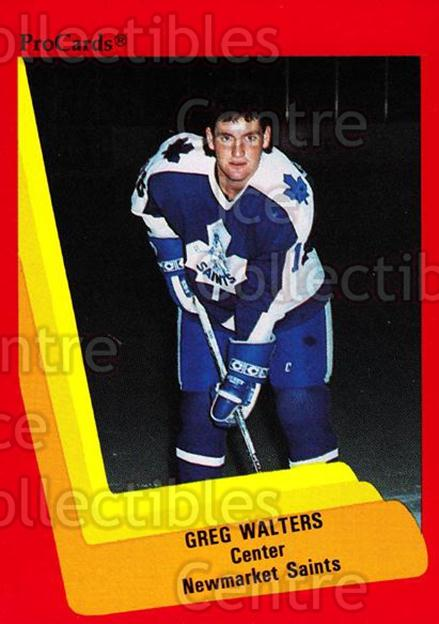 1990-91 ProCards AHL IHL #147 Greg Walters<br/>19 In Stock - $2.00 each - <a href=https://centericecollectibles.foxycart.com/cart?name=1990-91%20ProCards%20AHL%20IHL%20%23147%20Greg%20Walters...&quantity_max=19&price=$2.00&code=170423 class=foxycart> Buy it now! </a>