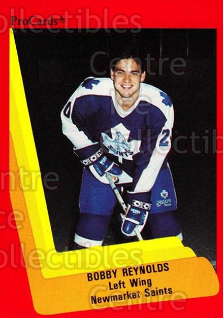 1990-91 ProCards AHL IHL #152 Bobby Reynolds<br/>6 In Stock - $2.00 each - <a href=https://centericecollectibles.foxycart.com/cart?name=1990-91%20ProCards%20AHL%20IHL%20%23152%20Bobby%20Reynolds...&quantity_max=6&price=$2.00&code=170429 class=foxycart> Buy it now! </a>