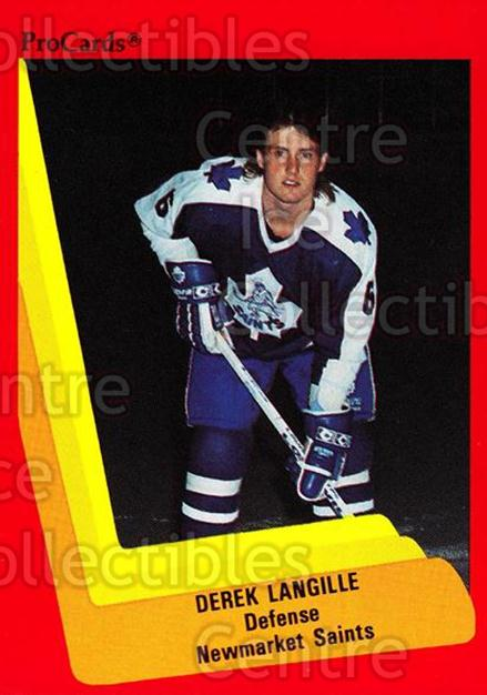 1990-91 ProCards AHL IHL #153 Derek Langille<br/>21 In Stock - $2.00 each - <a href=https://centericecollectibles.foxycart.com/cart?name=1990-91%20ProCards%20AHL%20IHL%20%23153%20Derek%20Langille...&quantity_max=21&price=$2.00&code=170430 class=foxycart> Buy it now! </a>