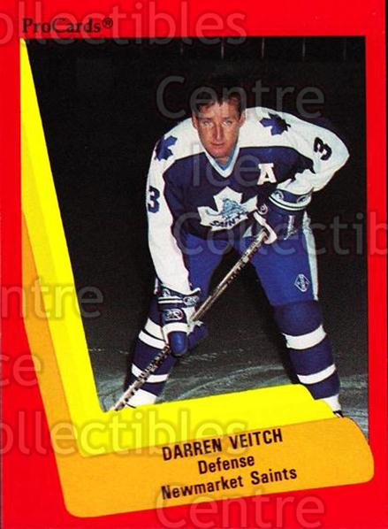 1990-91 ProCards AHL IHL #155 Darren Veitch<br/>21 In Stock - $2.00 each - <a href=https://centericecollectibles.foxycart.com/cart?name=1990-91%20ProCards%20AHL%20IHL%20%23155%20Darren%20Veitch...&quantity_max=21&price=$2.00&code=170432 class=foxycart> Buy it now! </a>