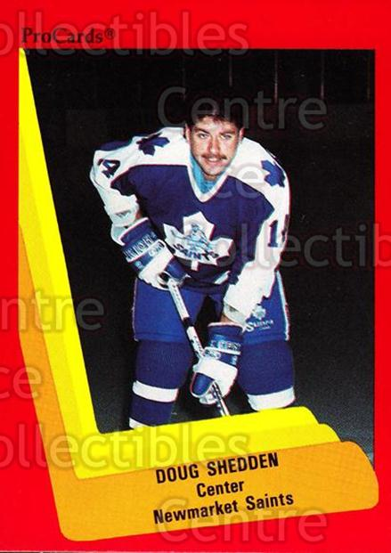1990-91 ProCards AHL IHL #158 Doug Shedden<br/>1 In Stock - $2.00 each - <a href=https://centericecollectibles.foxycart.com/cart?name=1990-91%20ProCards%20AHL%20IHL%20%23158%20Doug%20Shedden...&quantity_max=1&price=$2.00&code=170435 class=foxycart> Buy it now! </a>