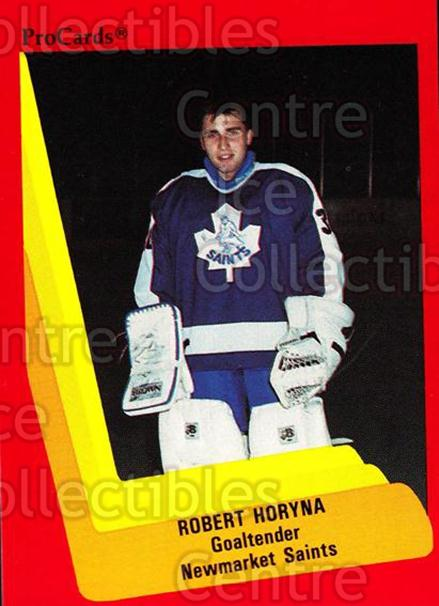 1990-91 ProCards AHL IHL #165 Robert Horyna<br/>8 In Stock - $2.00 each - <a href=https://centericecollectibles.foxycart.com/cart?name=1990-91%20ProCards%20AHL%20IHL%20%23165%20Robert%20Horyna...&quantity_max=8&price=$2.00&code=170442 class=foxycart> Buy it now! </a>