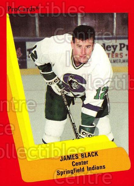 1990-91 ProCards AHL IHL #191 James Black<br/>25 In Stock - $2.00 each - <a href=https://centericecollectibles.foxycart.com/cart?name=1990-91%20ProCards%20AHL%20IHL%20%23191%20James%20Black...&price=$2.00&code=170467 class=foxycart> Buy it now! </a>