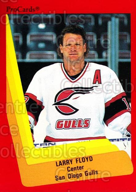 1990-91 ProCards AHL IHL #319 Lloyd Floyd<br/>23 In Stock - $2.00 each - <a href=https://centericecollectibles.foxycart.com/cart?name=1990-91%20ProCards%20AHL%20IHL%20%23319%20Lloyd%20Floyd...&quantity_max=23&price=$2.00&code=170599 class=foxycart> Buy it now! </a>